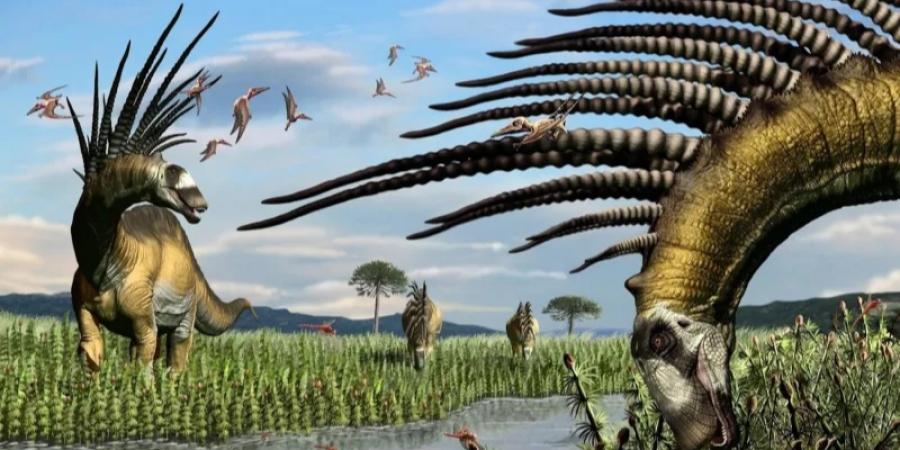 В Аргентине нашли скелет динозавра с шипами для красоты