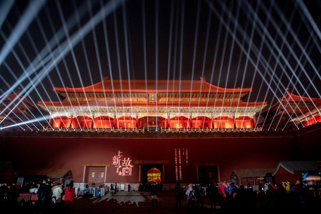 Запретный город в Пекине впервые за век открылся для публики ночью