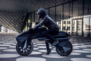 В Германии на 3D-принтере напечатали первый в мире электромотоцикл