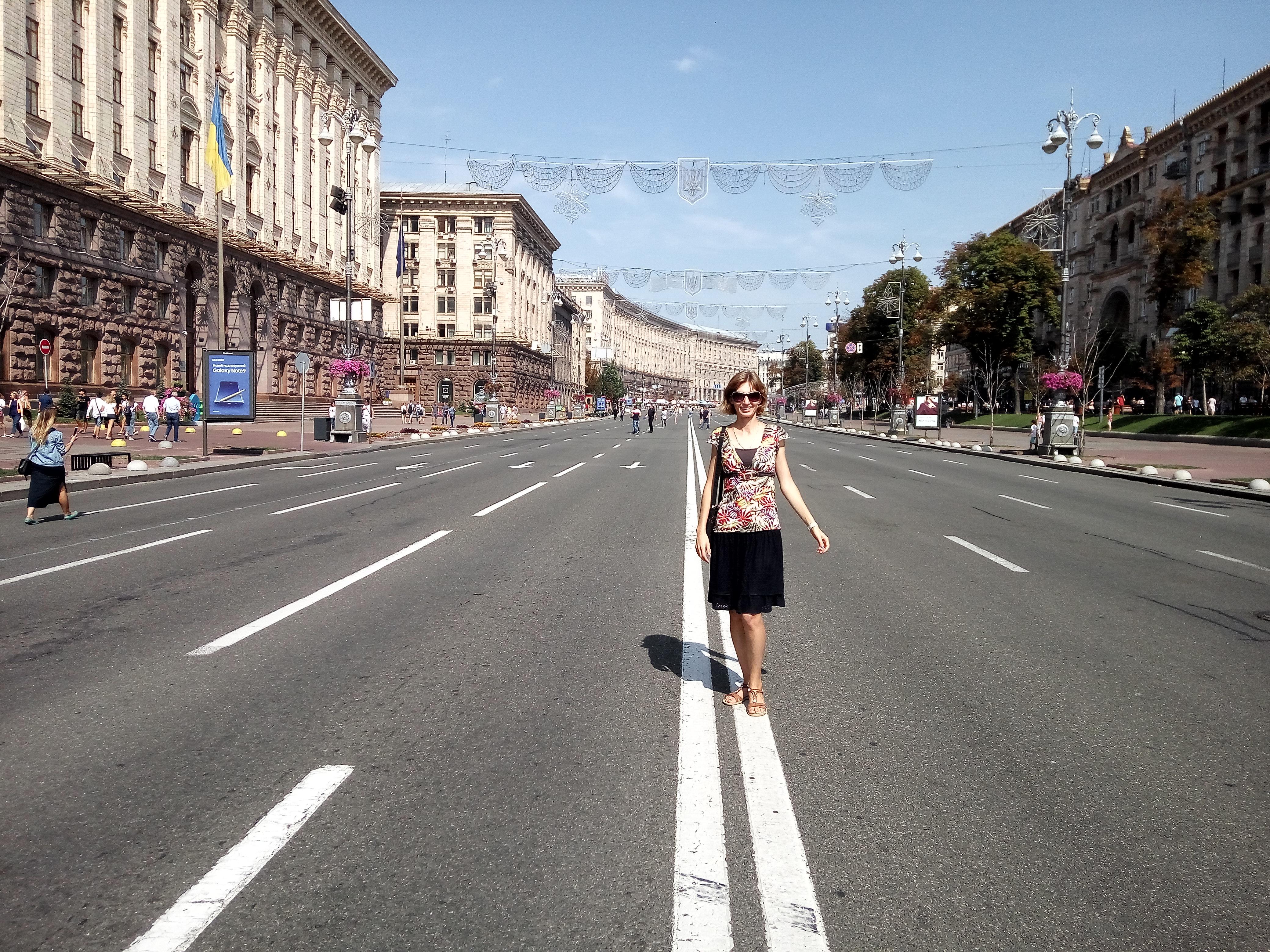 Киев сейчас и прежде