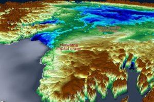 NASA обнаружило второй ударный кратер подо льдом Гренландии