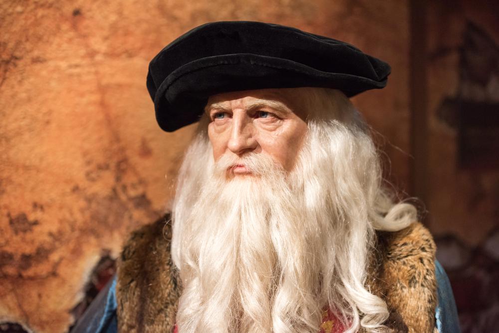 В Лондоне нашли отпечатки пальцев Леонардо да Винчи
