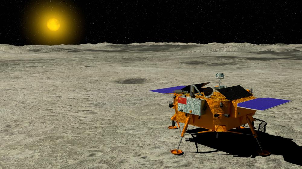 Китайский зонд измерил ночную температуру на Луне