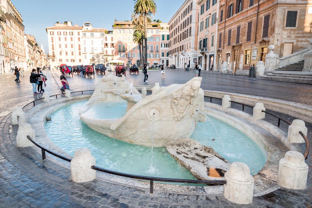 В Риме планируют ввести черный список буйных туристов
