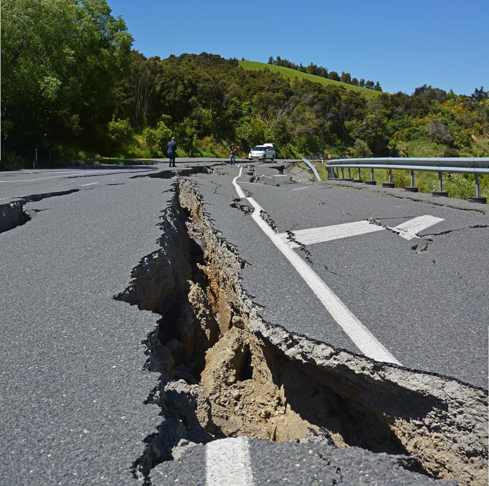 В Доминикане после снегопада произошло землетрясение