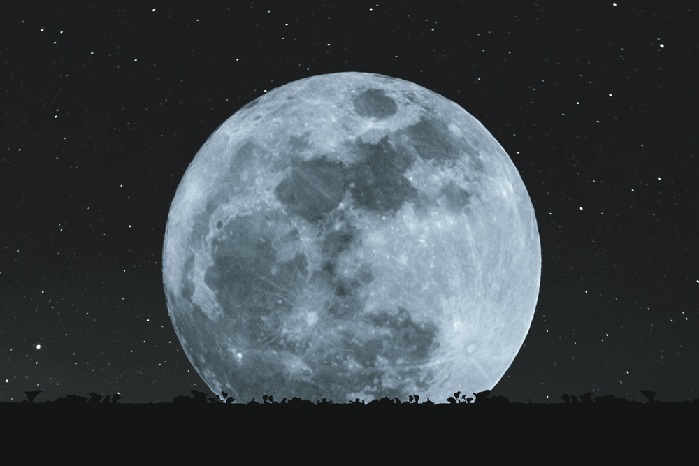 Жители Земли смогут наблюдать суперлуние года