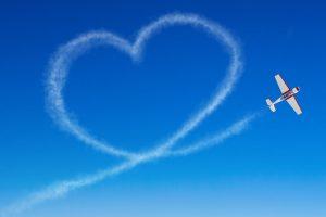 В Австралии пилот написал в воздухе надпись «Мне скучно»