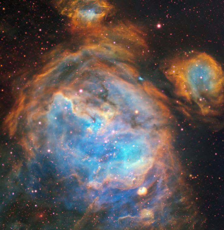 Астрономы показали гигантский детский сад в Большом Магеллановом облаке