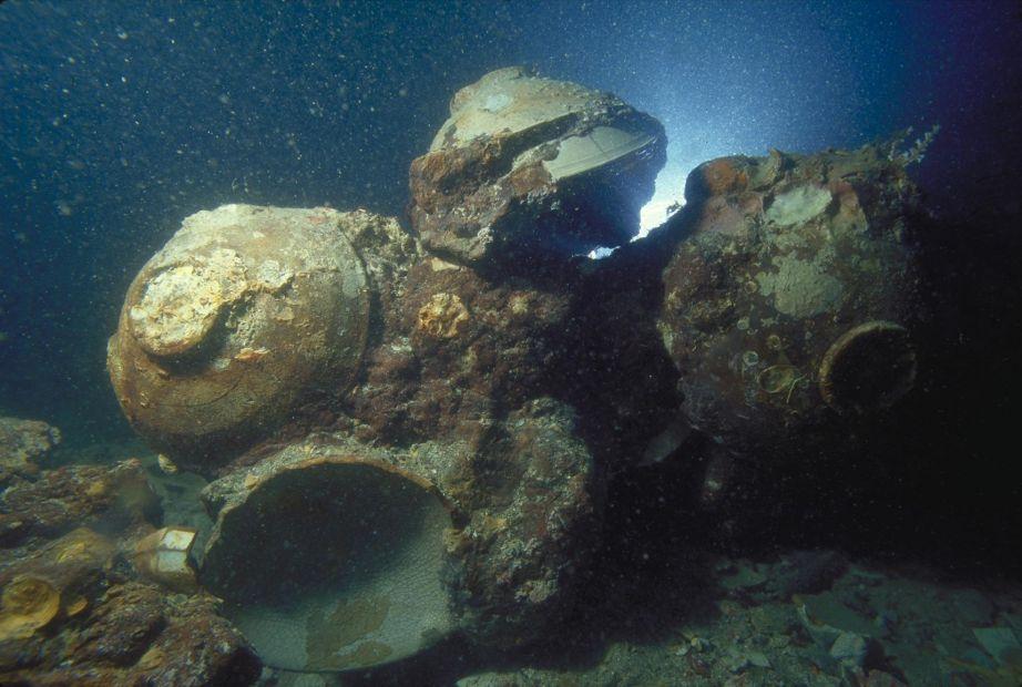 В Индонезии затонувшему кораблю сделали рентген.Вокруг Света. Украина