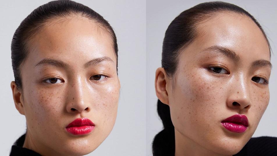 Китайцы обиделись на рекламу из-за модели с веснушками