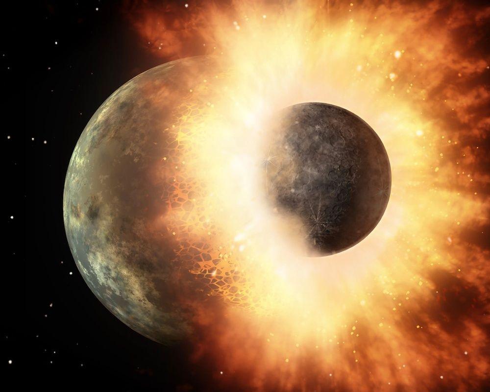 Астрономы обнаружили последствия столкновения экзопланет