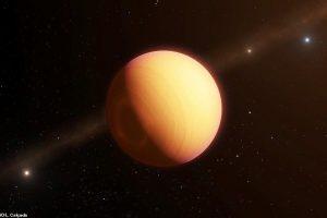 Астрономы нашли горячий