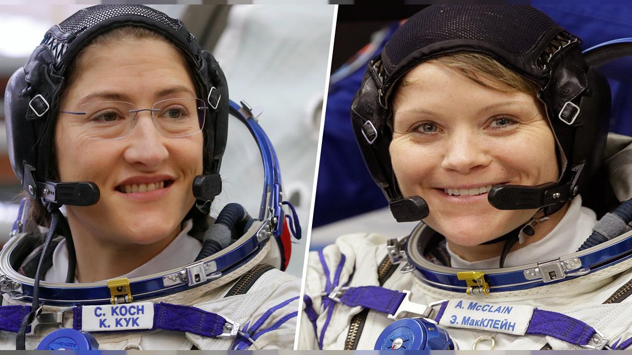 Первый в истории женский экипаж выйдет в открытый космос