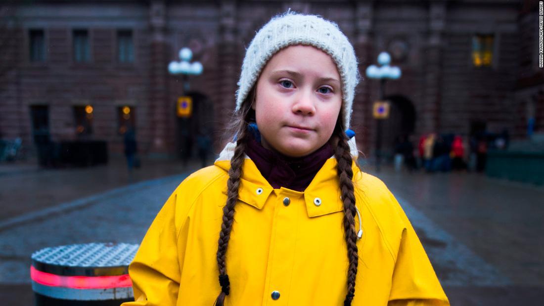 Шведская школьница номинирована на Нобелевскую премию мира