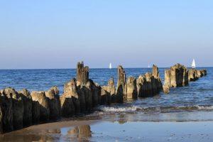 Берега Дании за три года обросли новыми островами
