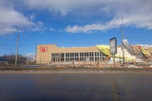 По Чернигову пронесся ураган
