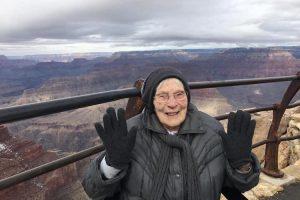 103-летняя женщина стала экскурсоводом Гранд-Каньона