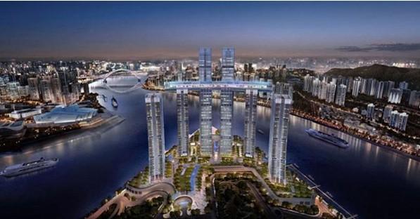 В Китае построили первый в мире горизонтальный небоскреб.Вокруг Света. Украина