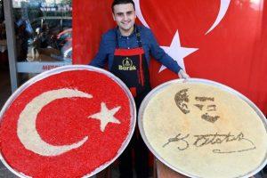 Турецкий повар готовит гигантские блюда