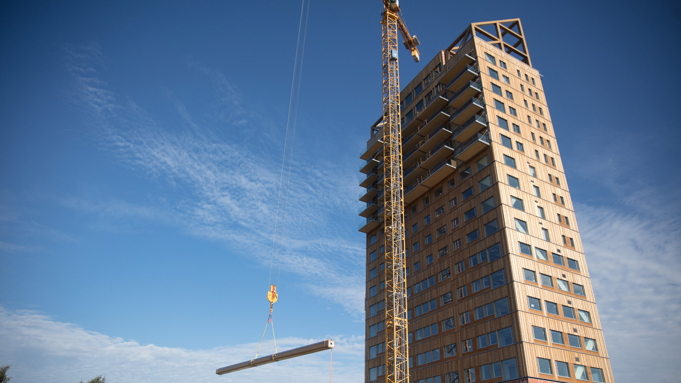 В Норвегии построили самое высокое в мире деревянное здание