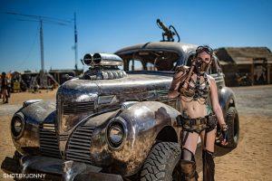В пустыне Мохаве прошел фестиваль в стиле