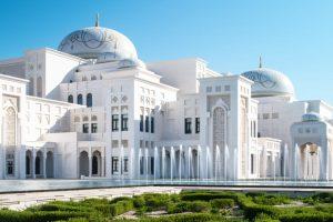 Президентский дворец Абу-Даби впервые открыли для посетителей