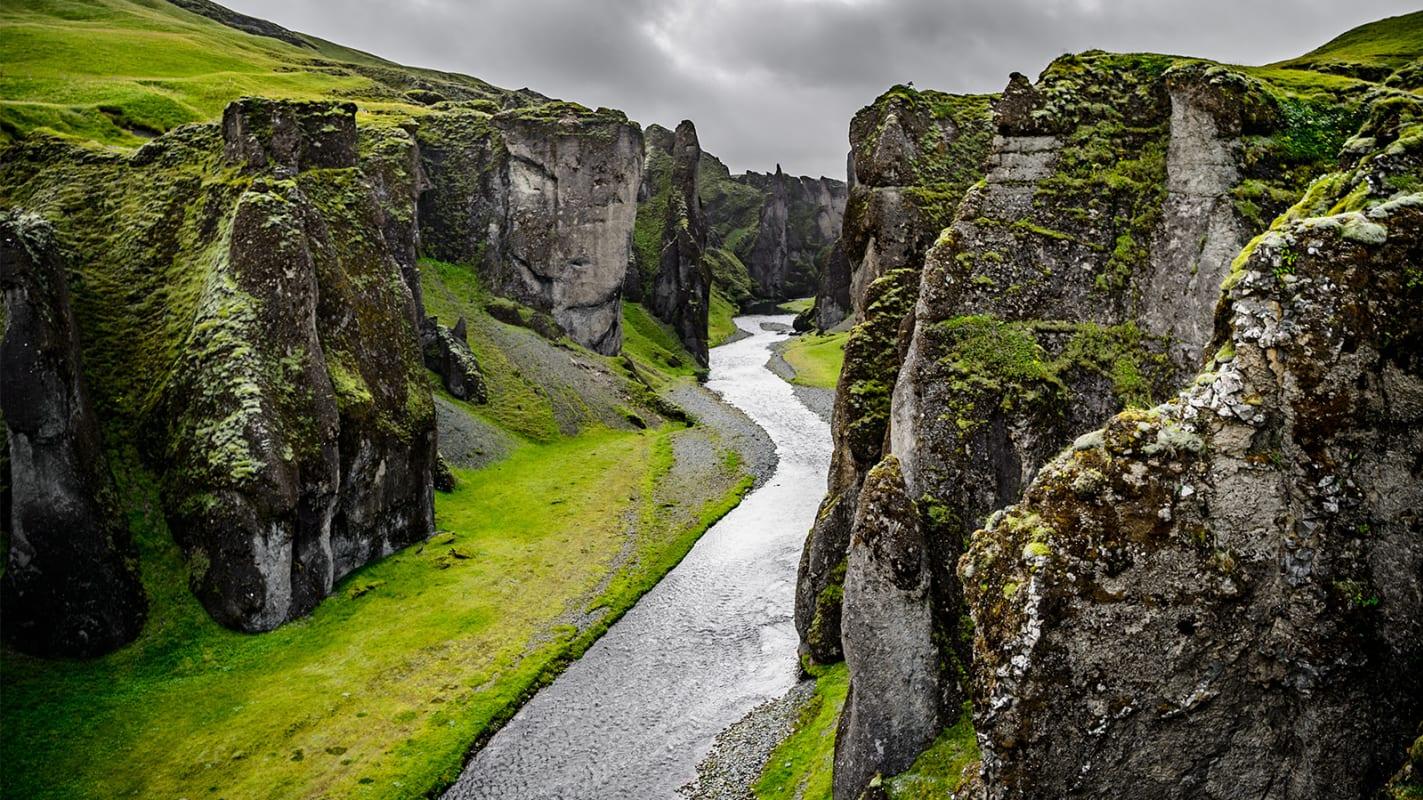 Популярный каньон на юге Исландии закрывают для туристов.Вокруг Света. Украина
