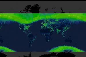 Ученые создали интерактивную карту светового загрязнения