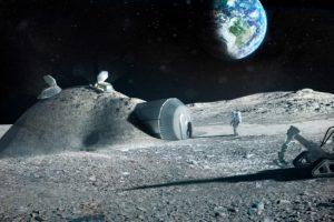 NASA построит базу на Луне для