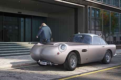 Швейцарский художник создал гибрид авто и диких животных