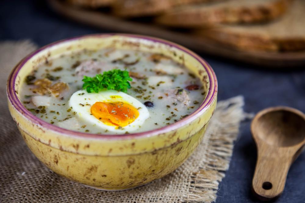 Кухни мира: польский журек