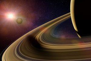 Астрономы определили цвет спутников Сатурна