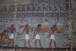 Египетские археологи открыли гробницу чиновника Пятой династии