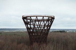 В лесах Дании появилась 135-метровая обзорная башня
