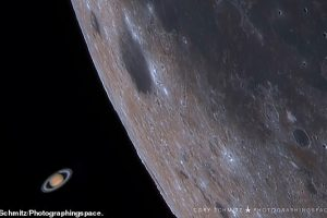 Астроном из Южной Африки снял Луну,