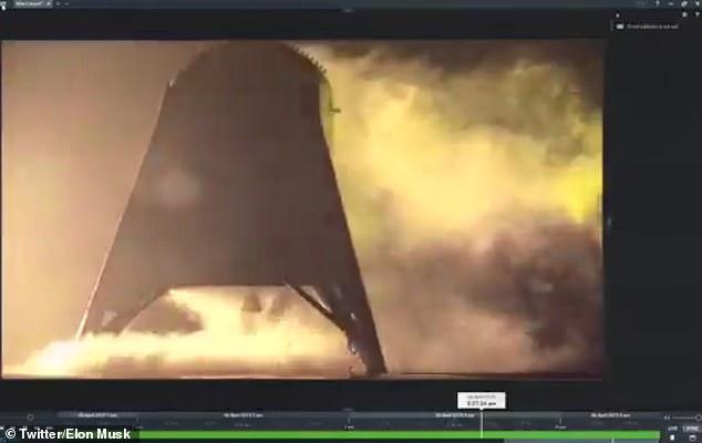 Прототип суборбитального космолета SpaceX успешно оторвался от земли