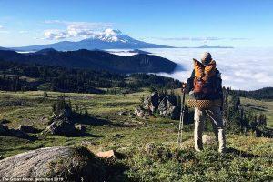 Голландец в одиночестве полгода шагал по Тихоокеанской тропе