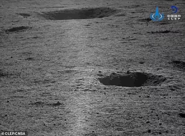 Китайский луноход Yutu-2 показал вечер на обратной стороне Луны