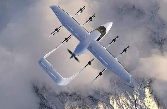 Чеська компанія представила проект безпілотного пасажирського літака