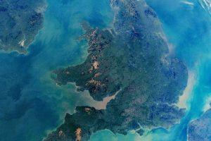 NASA показало Великобританию с борта МКС