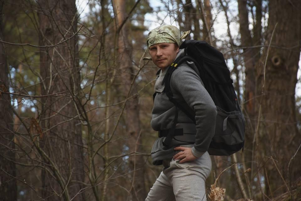Украинец отправился пешком из Киева в Лиссабон.Вокруг Света. Украина