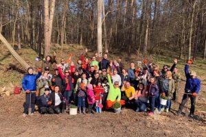 На Львовщине установили национальный рекорд по высадке деревьев