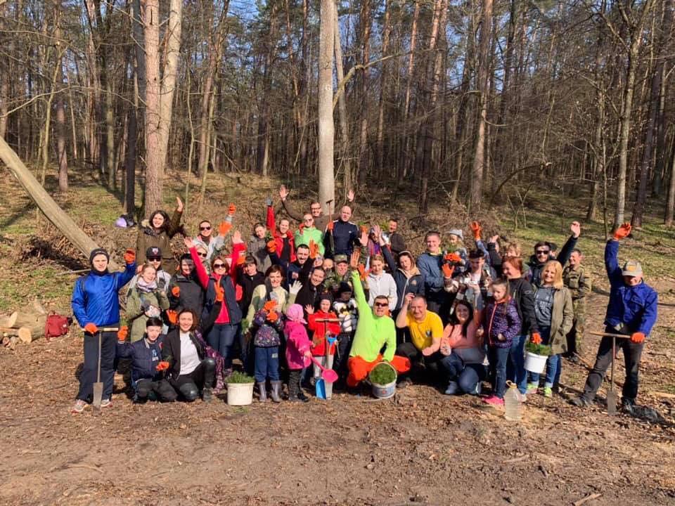 На Львовщине установили национальный рекорд по высадке деревьев.Вокруг Света. Украина