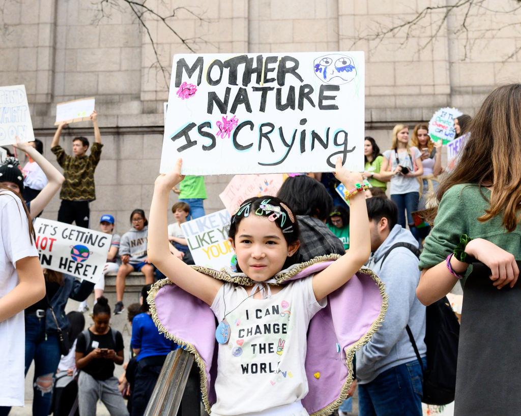 В Лондоне экоактивисты захватили Музей естествознания
