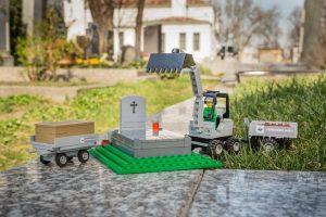 Кладбище в Вене предлагает Lego с могилами