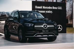 В украине презентовали новый Mercedes-Benz GLE
