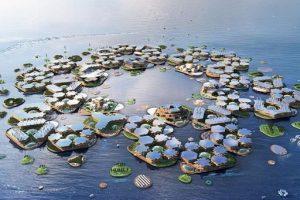 В Нью-Йорке построят плавучий город-соты