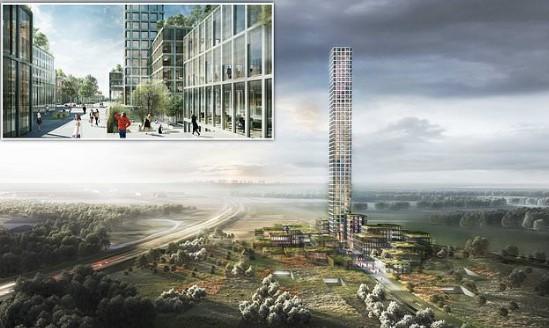 В Дании построят самый высокий небоскреб в Западной Европе