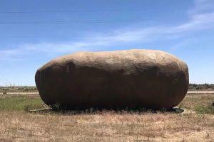 На Airbnb сдается дом-картофелина