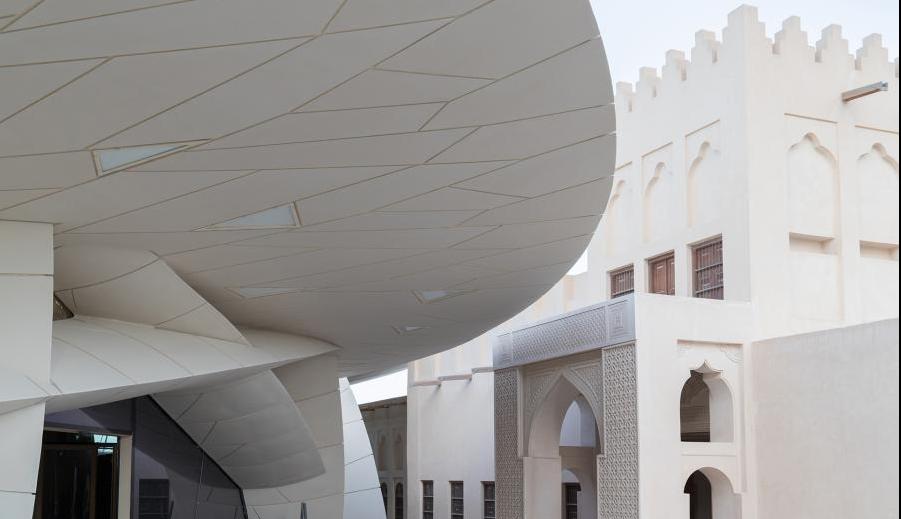 В Катаре построили уникальное здание Национального музея